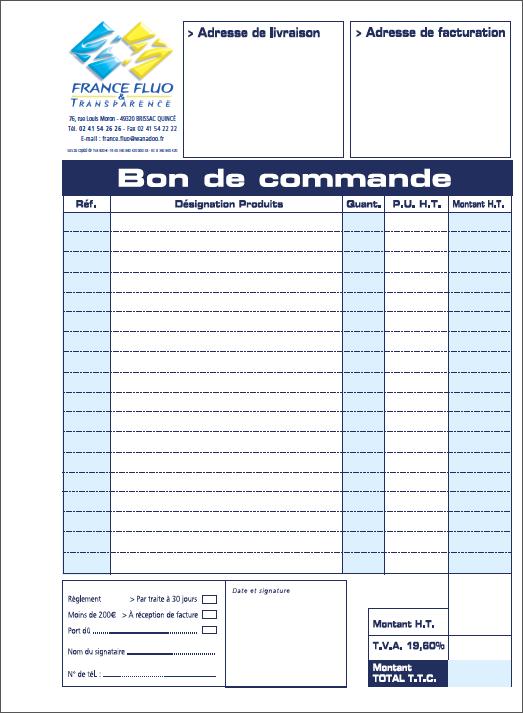 France fluo france fluo bon de commande - Delamaison fr suivi de commande ...